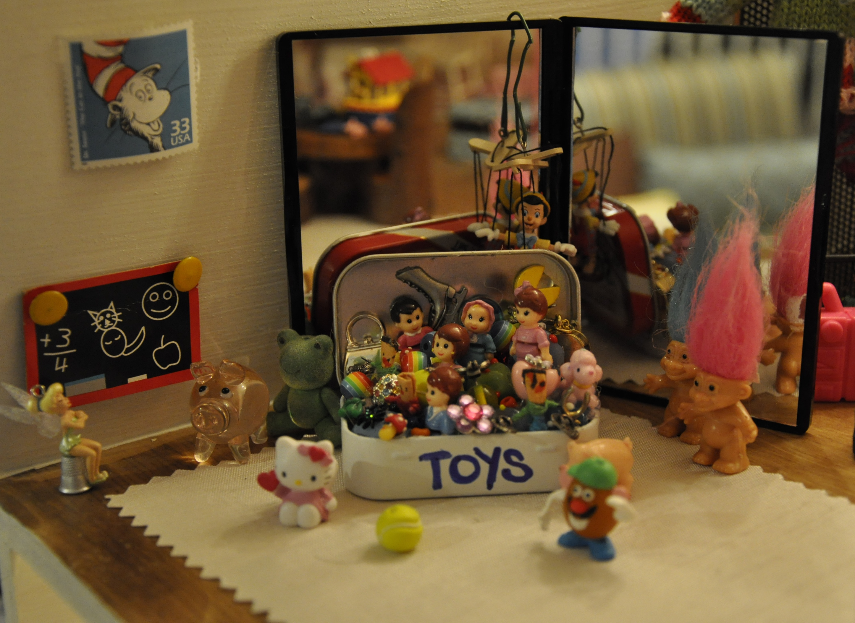 photo by lillian askins - Dollhouse Christmas Decorations