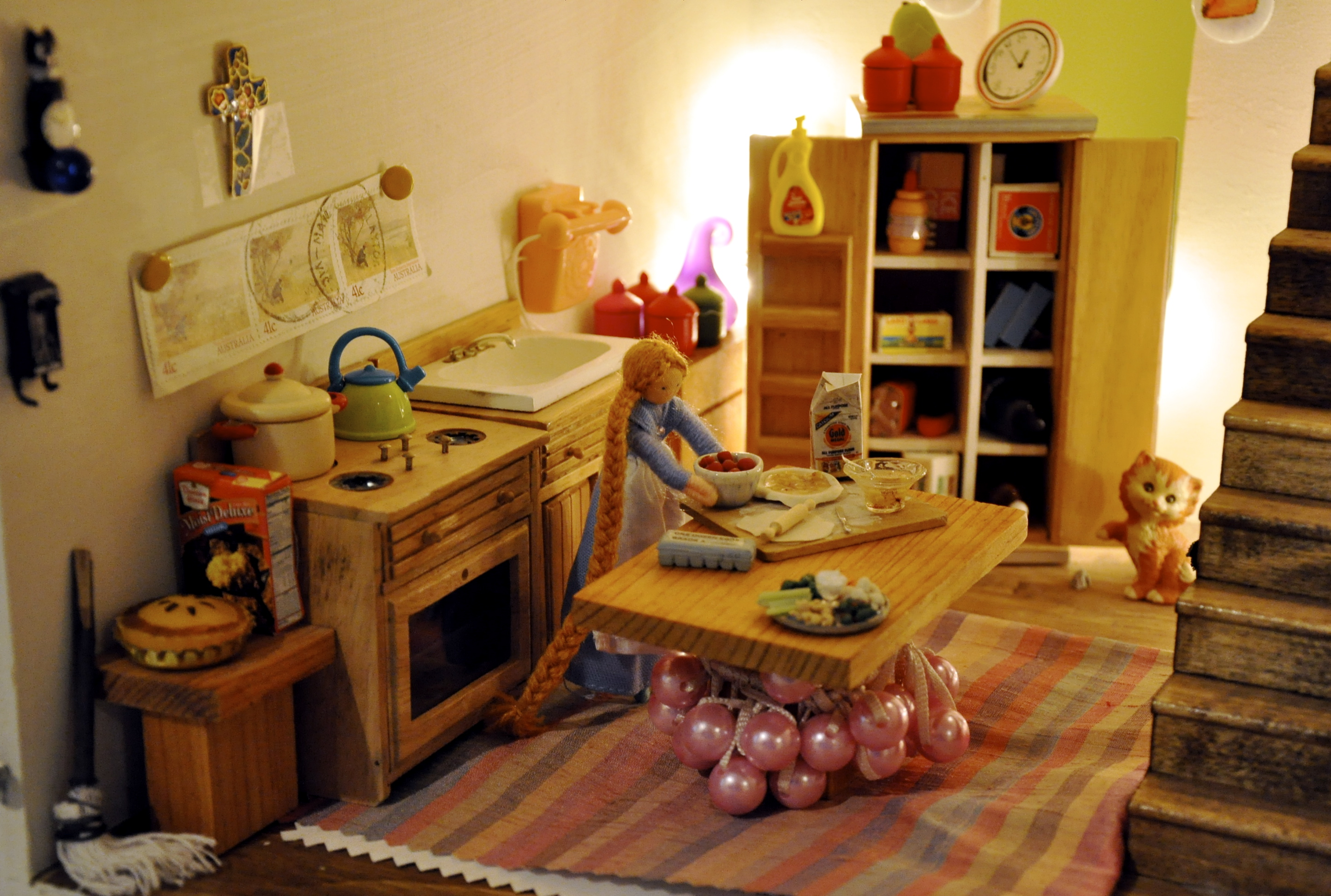 Miniature Dollhouse Kitchen Furniture 17 Best Images About My Doll House Ideas On Pinterest Miniature
