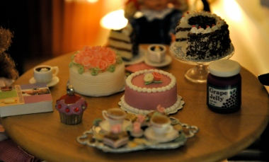 Jelly, Cookie, Cup Cake, Coffee, Books, Dolls