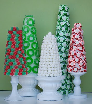 how cute and sweet - Christmas Candy Decorations