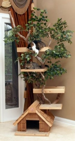 how-to-make-a-cat-tree-house