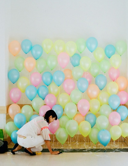 balloon backdrop