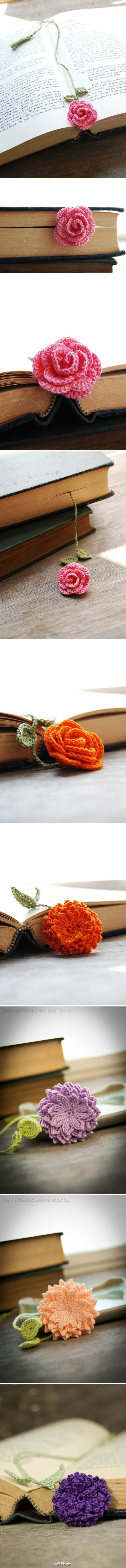 Bookmark Flower