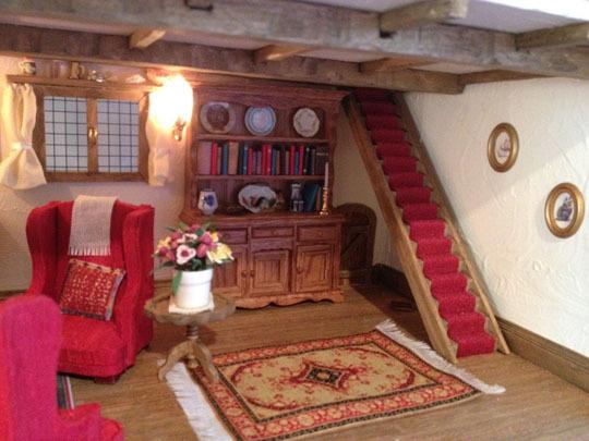 doll house- living room
